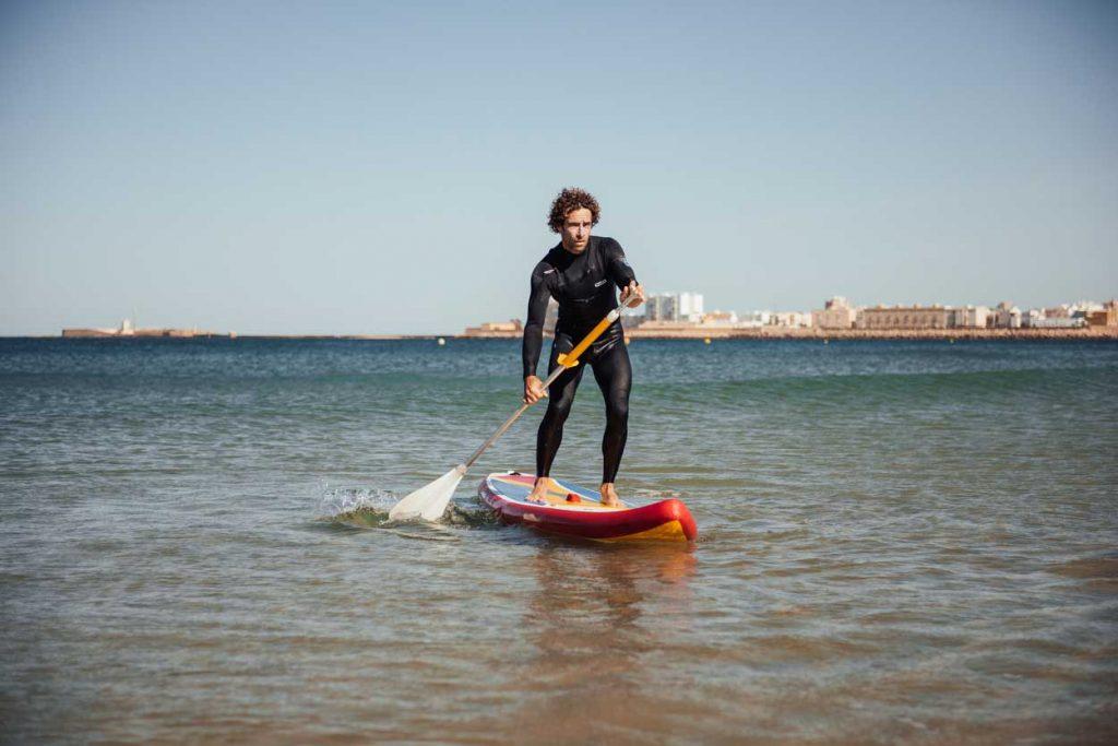 Paddle Surf por la costa de Cádiz.